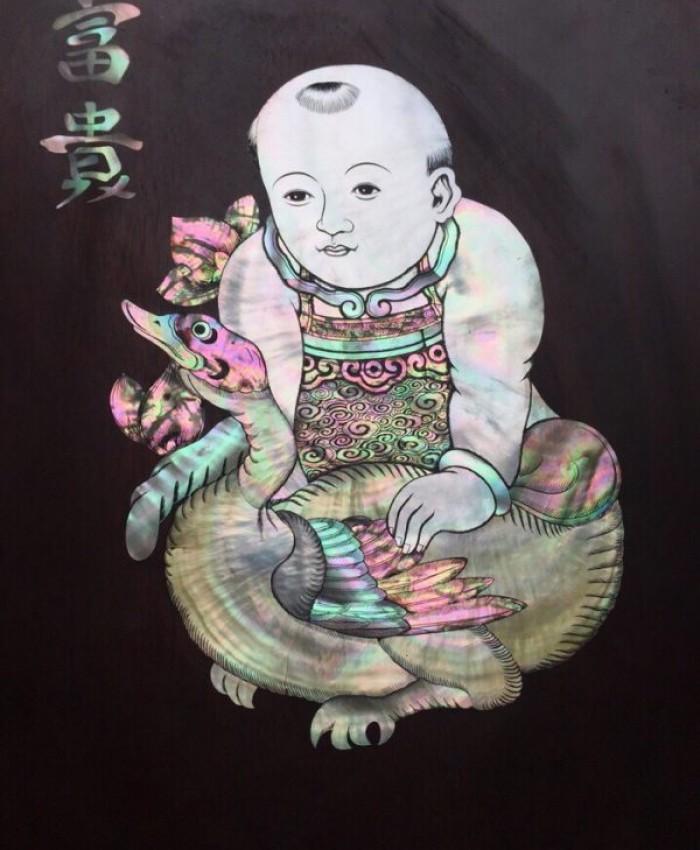 Tranh Kham Dan Gian Dong Ho