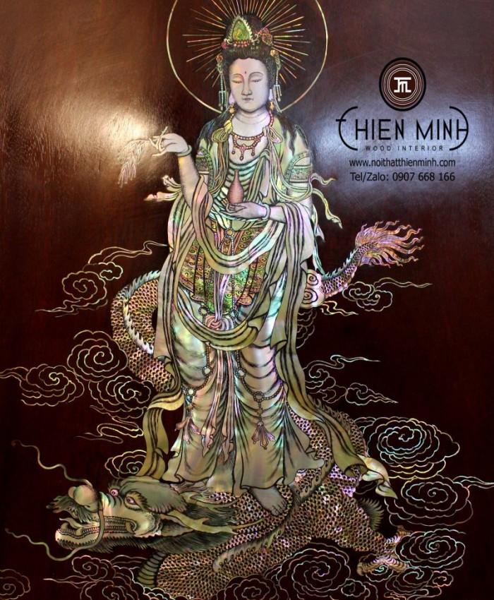 Tranh Kham Nghe Thuat Phat Ba G