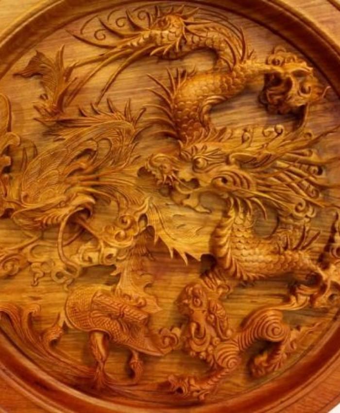Tranh Tu Linh Phong Thuy Y